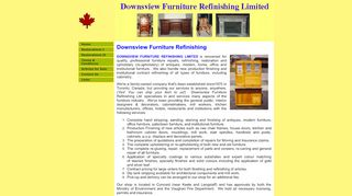 Downsview Furniture Refinishing